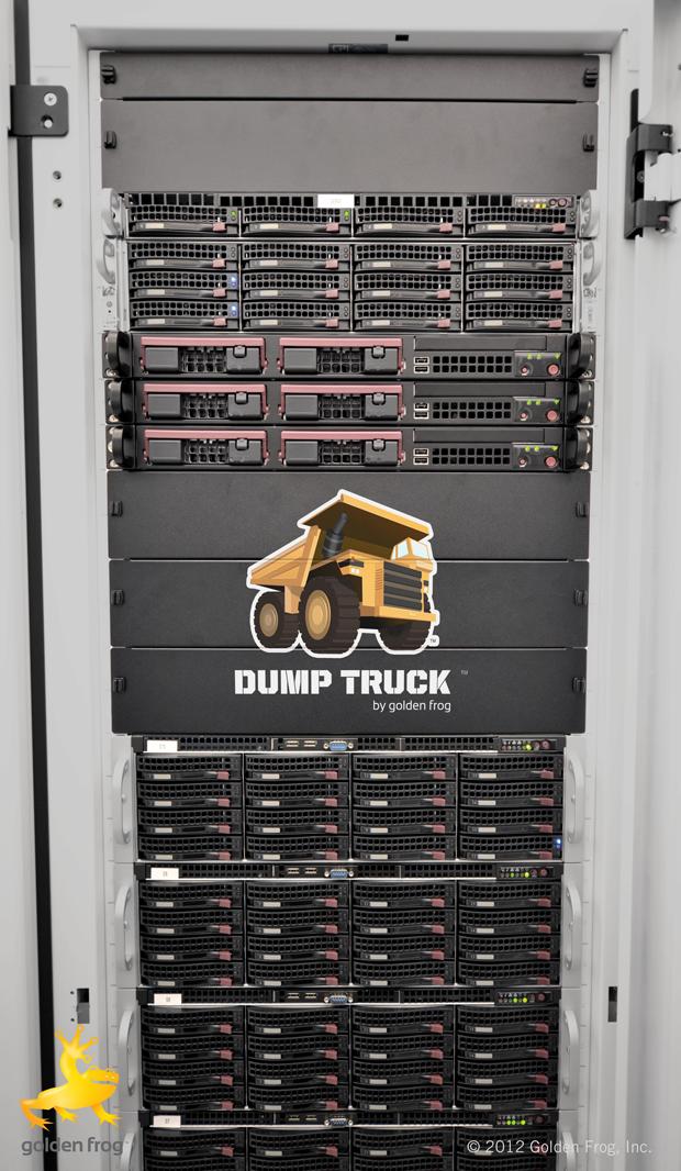 500 Terabytes of Dump Truck Online Storage
