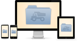 Dump Truck files sync right to your desktop
