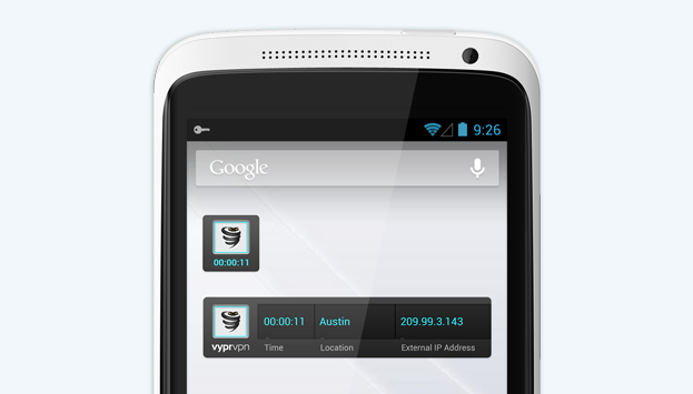 VyprVPN for Android Widgets