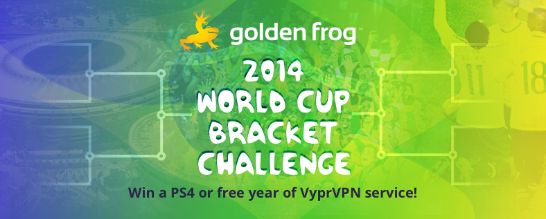 Golden Frog 2014 World Cup Bracket Challenge