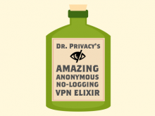 "When my VPN Provider's privacy policy says they ""don't log"", that means I am anonymous."