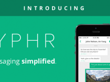 Try Cyphr, our New Encrypted Messaging App!