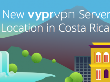 New VyprVPN Server Location in Costa Rica!