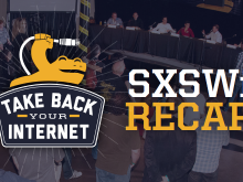 """Take Back Your Internet"" Panel and Party Recap 2015"