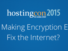 HostingCon 2015 Encryption Internet