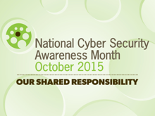 national cybersecurity awareness month 2015