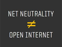 Net Neutrality is not Open Internet