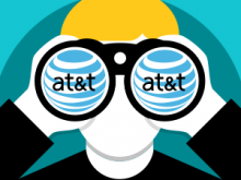 AT&T Caught Spying