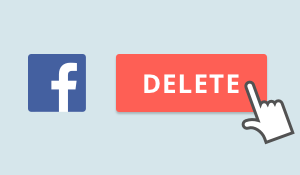 Aprende a borrar fácilmente tu cuenta de Facebook.