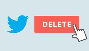 Al borrar tu cuenta de twitter, puedes aumentar tu privacidad en Internet.