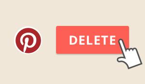 Descubre cómo borrar tu cuenta de Pinterest para mejorar la calidad de tu experiencia en Internet y mantener intacta tu privacidad online.