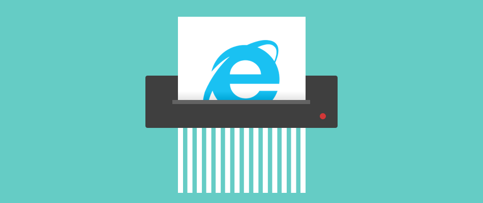 Improve your online privacy by regularly deleting your Internet Explorer search history.