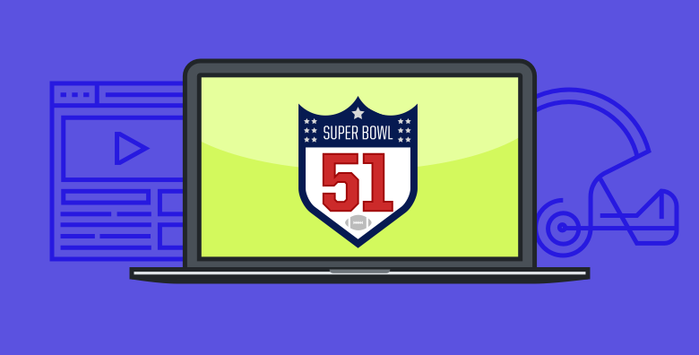 how to watch super bowl 2017 live online