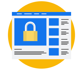 Use HTTPS to browse securely online.