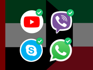 How To Unblock WhatsApp Calling and YouTube in UAE and